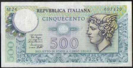 italia 500 liras 14 feb 1974 p94