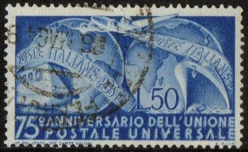 itália - 75º aniversário da upu - 1949