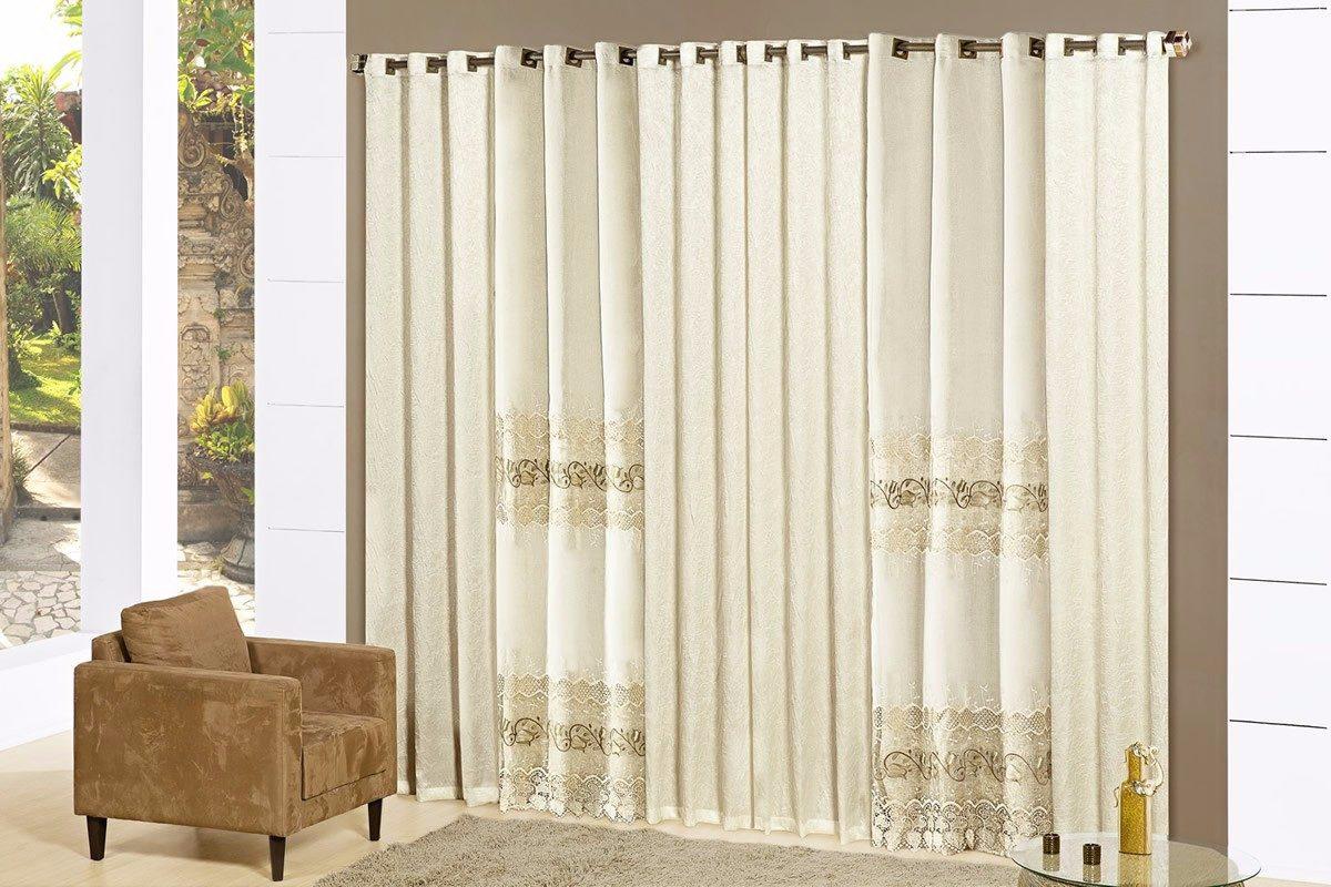 It Lia Cortina Para Sala De Luxo Decoradas Especiais 15110 R 599  -> Salas De Luxo Decoradas