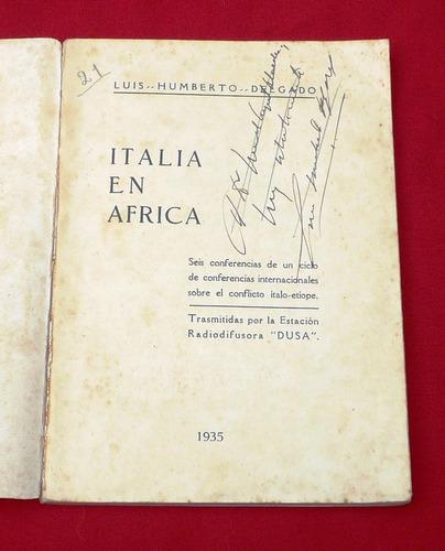 italia en africa luis humberto delgado 1935 liga de naciones