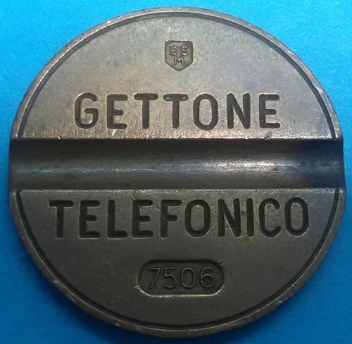 italia ficha telefónica