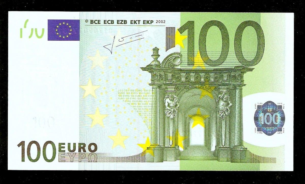 It lia letra s 100 euros 2002 p 12s fe c dula tchequito r 540 00 em mercado livre - 200 euros en livres ...