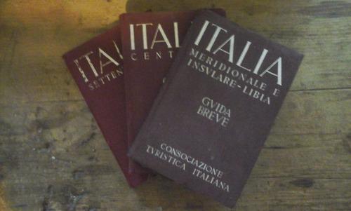 italia meridionale e insulare-libia, 3 tomos, completa, 1940
