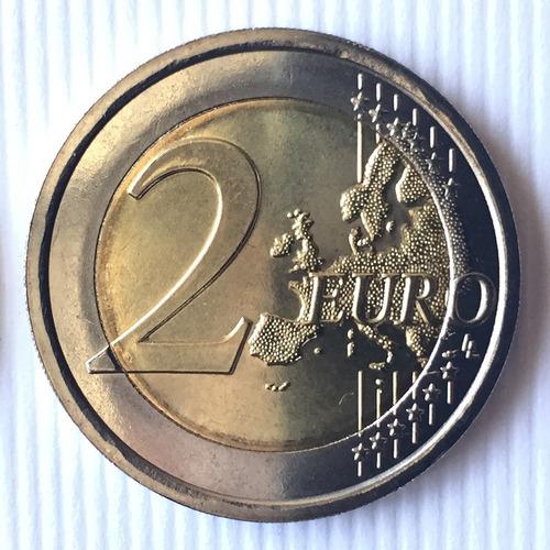italia - moneda 2 euros 2015 - bandera europea ¡ s/circ.!