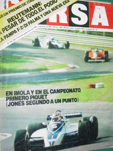 italia reutemann piquet jones markku autos revista corsa 746