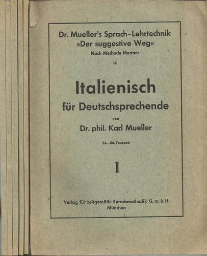 italiano para germano-parlantes. en 6 tomos.