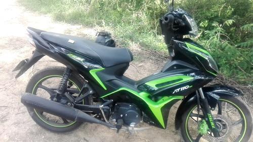 italica at110 negro /verde