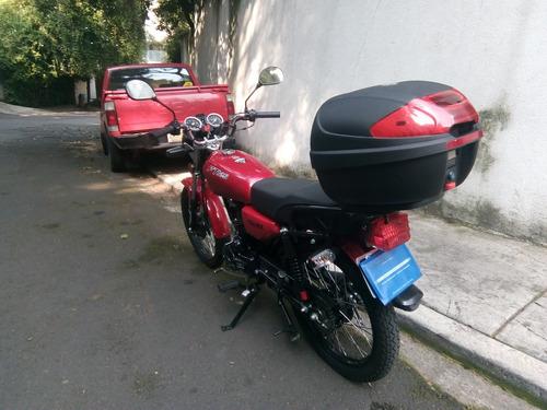 italica ft125 rojo