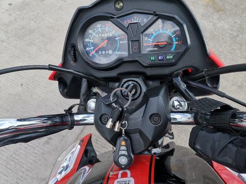 italika 125z rojo/negro