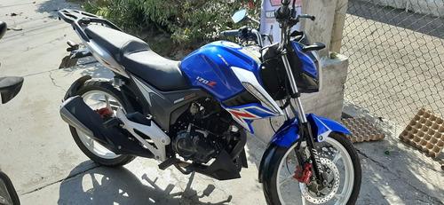 italika 170 z azul y blanco
