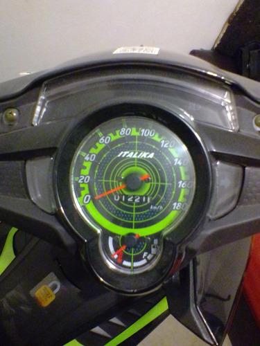 italika at110rt negro/verde