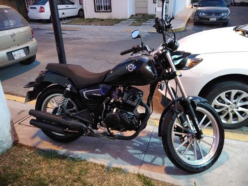 italika chopper rc 200 negro