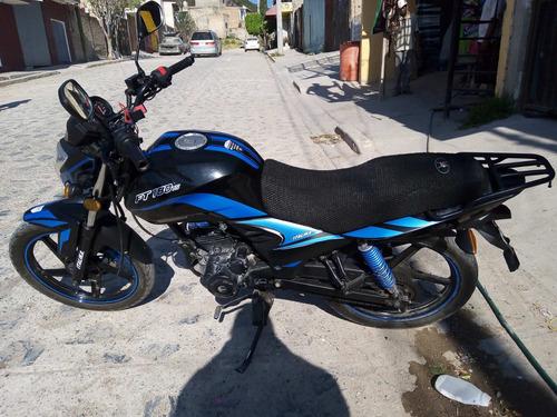 italika ft 180 ts azul / negro