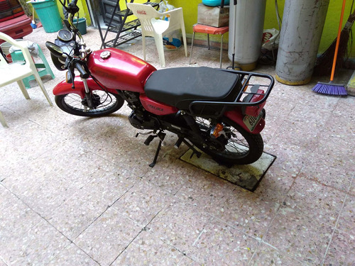 italika ft125 color rojo