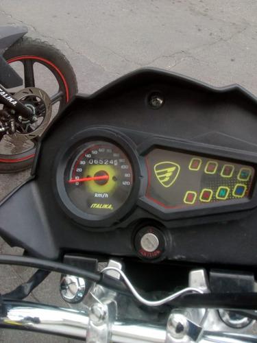 italika ft150 ts 150cc 2019 negro con amarillo
