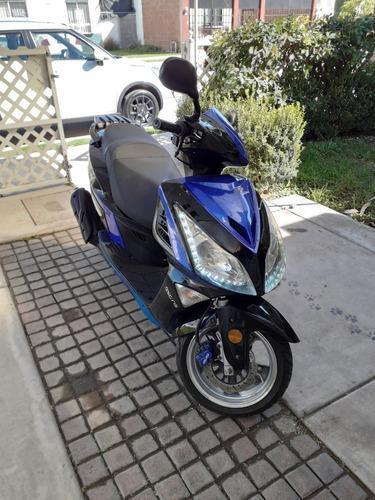 italika, gran scooter gsc 175, leds.  2016