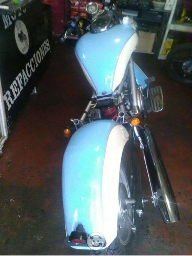 italika  tc250 azul crema