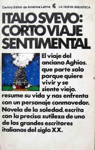 italo svevo, corto viaje sentimental, ed. ceal