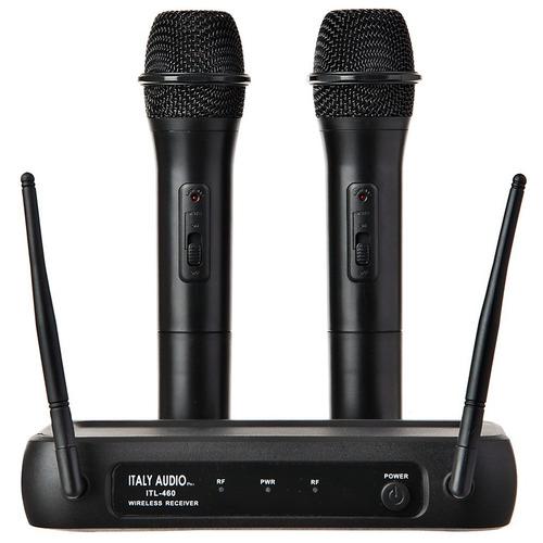 italy audio microfonos inalambricos incluido iva