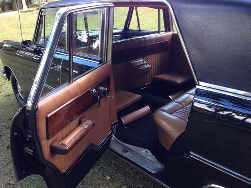 itamaraty executivo - limousine original de fábrica 1967