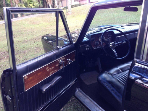 itamaraty limousine original  - chassis 0001