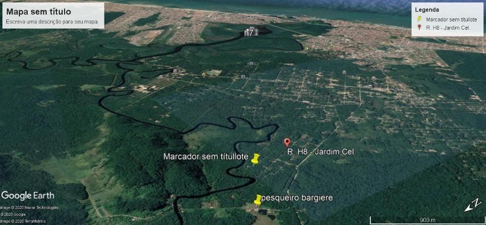 itanhaém 1000mts com escritura as margens rio preto