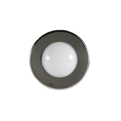 itc (69660-ss-db) round led hardtop / spreader light