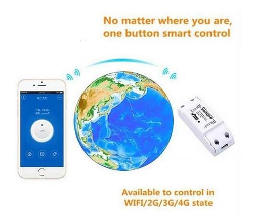 itead sonoff interruptor wifi google home alexa automação