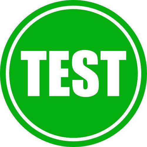 item 1 - test