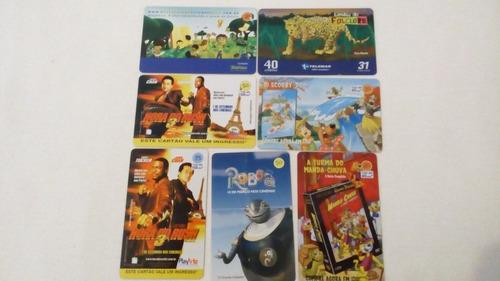 item de colecionador cartões telefônicos - cartões raros
