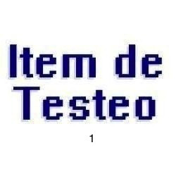 item de test - no ofertar