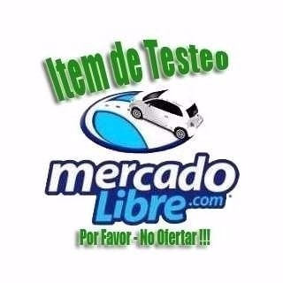 item de testeo por favor no ofertar!