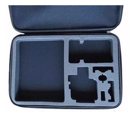 itens para gopro hero 5 c/ mala tripé 3way bateria estanque