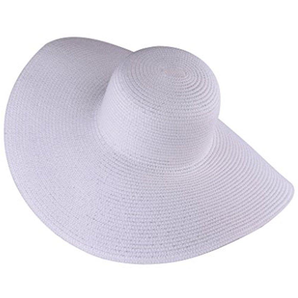 44c32a22696bb Itopfox Women s Beachwear Sun Hat Sombrero De Paja A Raya - S  149 ...