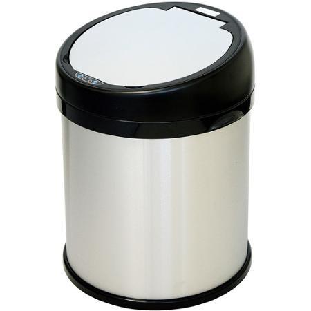 itouchless 8 galón redondo extra ancho inox automática