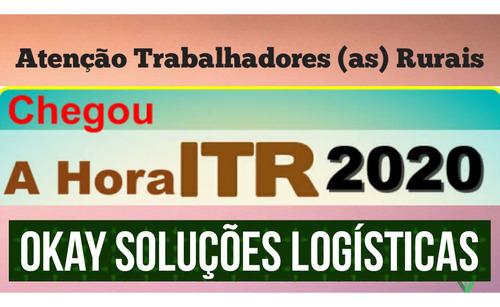itr 2020 - declaração do imposto territorial rural