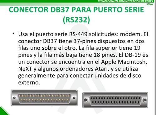itt cannon original db37 way through hole pcb d-sub