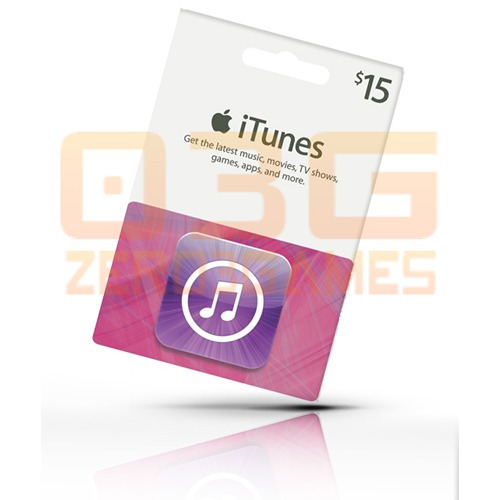 itunes gift card 15 - turbine seu ipod iphone e ipad! usa