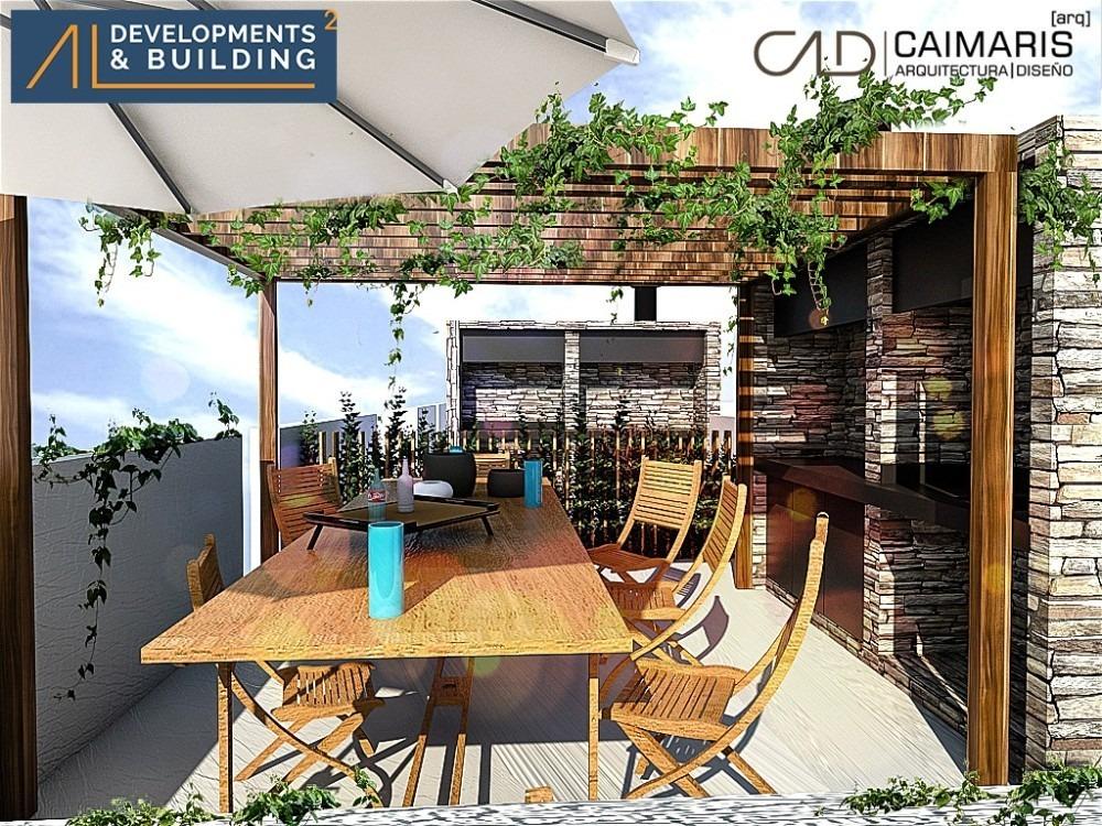 ituzaingo norte - departamento 4 ambientes alvear garden