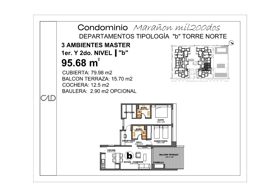 ituzaingó norte - excelente duplex de 4 ambientes a estrenar