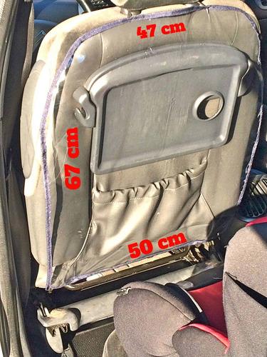 itz funda cubre asiento respaldo protect , accesorios autos