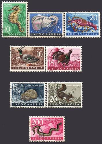 iugoslávia com selos