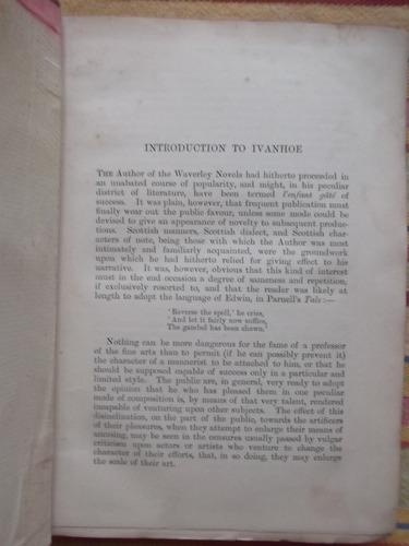 ivanhoe walter scott 1896 tapas duras