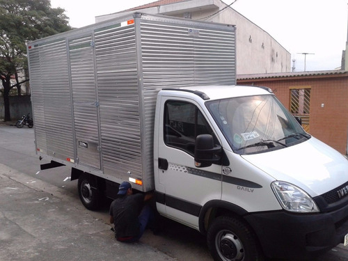 iveco 0km 35s14 longa com bau aluminio pronta entrega- 2018