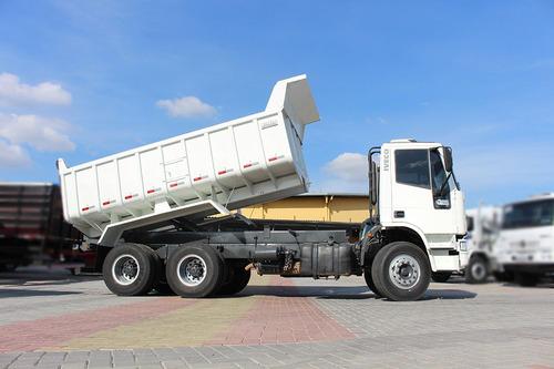 iveco 260e25 6x4 2012 caçamba 12m = cargo 2629 mb 2726