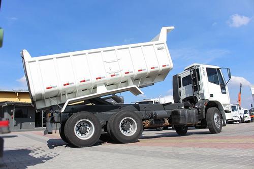 iveco 260e25 6x4 caçamba 12m³ = scania mercedes mb cargo