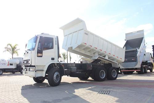iveco 260e25 6x4 traçado - 2012 - caçamba 12m³