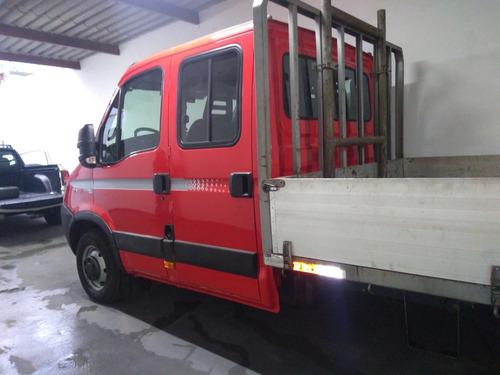 iveco 35s14 ano 2013 cab dupla