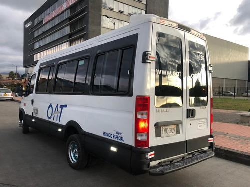 iveco 50c-16 2014 microbus buseta 19 pasajeros