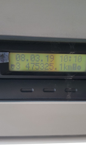 iveco cursor 330 ano 2011 leito / teto alto com ar cond.